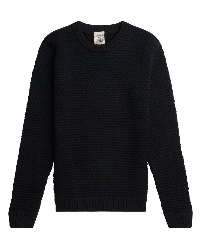 GRADIENT crew neck<br>grade black