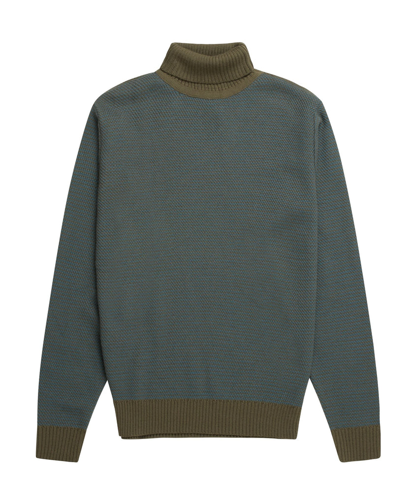 TEXT sweater<br>olive green