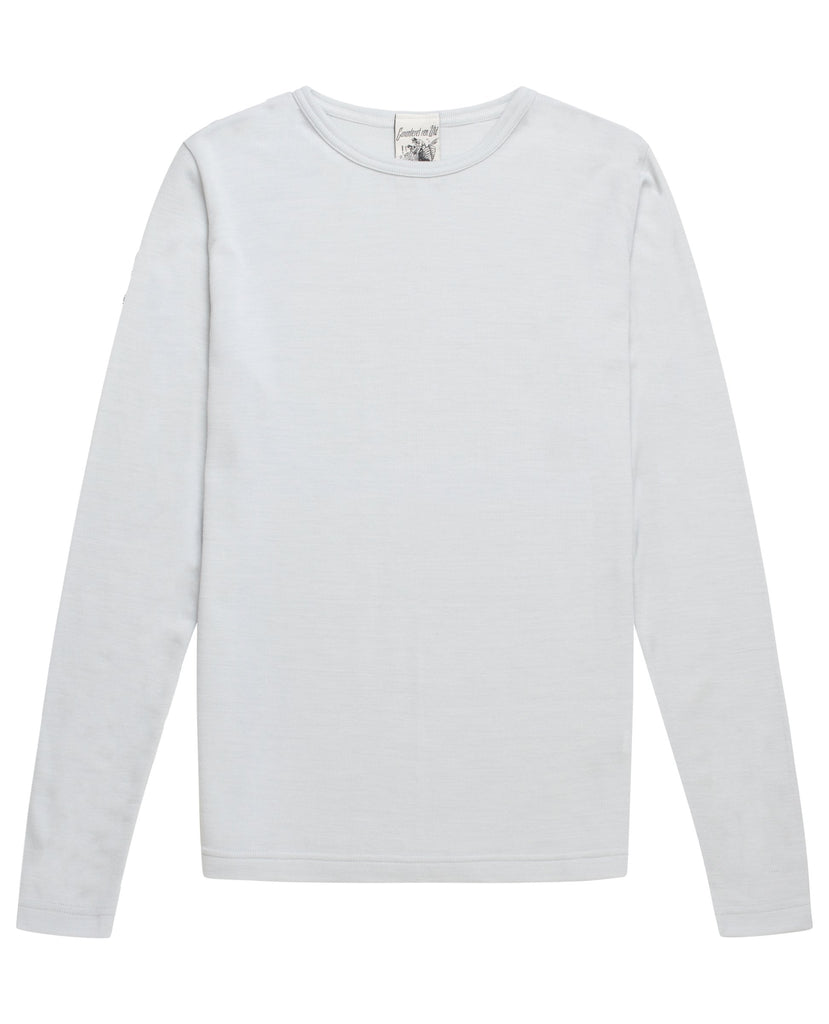 HELIX crew neck<br>neuron grey moiré