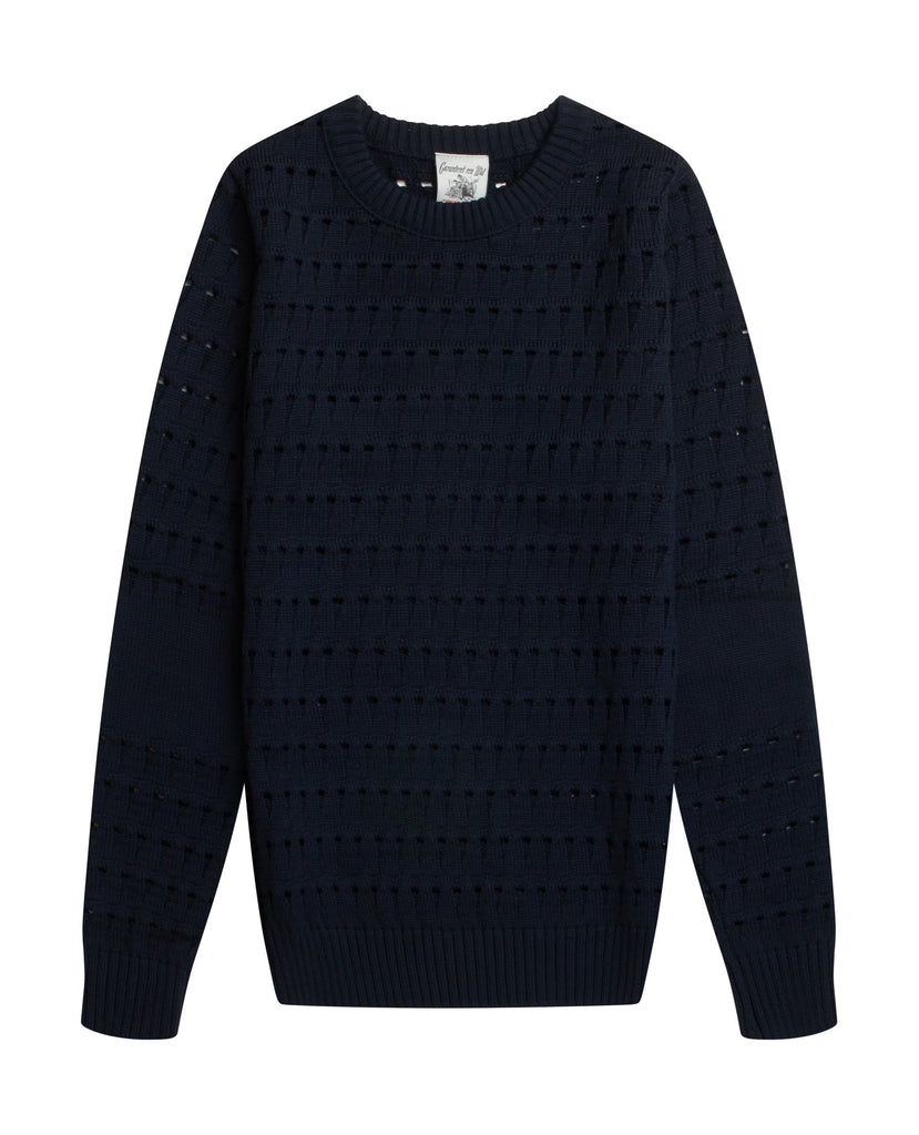 REFORM sweater<br>medium blue