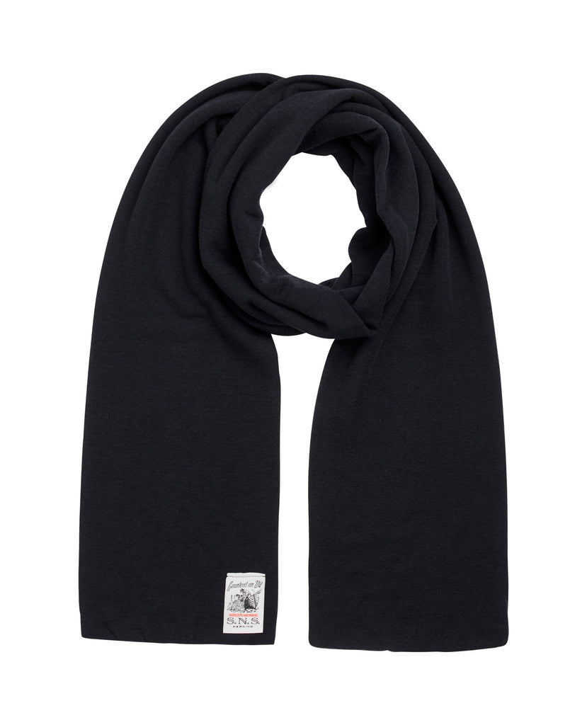 DOUBLE scarf<br>original blue