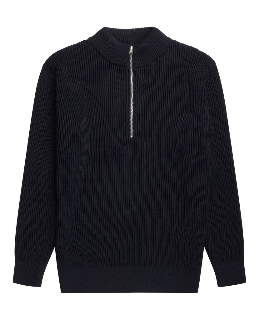 FENDER short zip | kort lynlås<br>navy blue [2] (M)