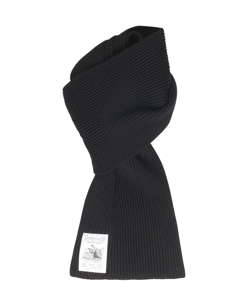 SPLIT scarf<br>black (M)