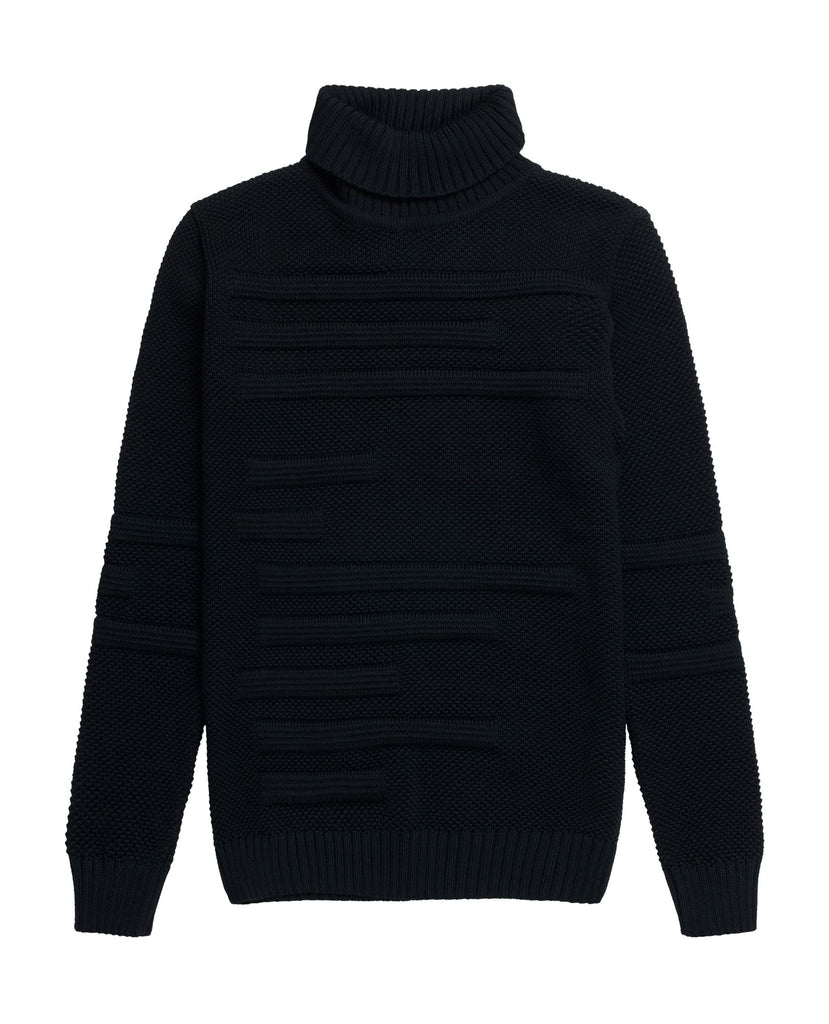 DIFFERENTIAL sweater<br>black lake blend