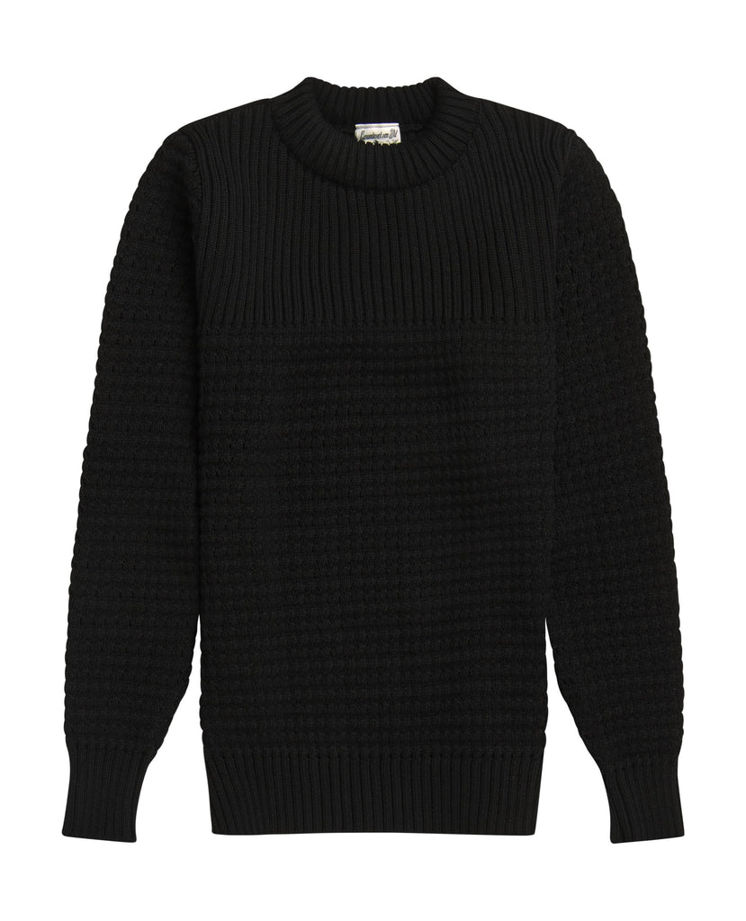 RATIONALE crew neck<br>peano black