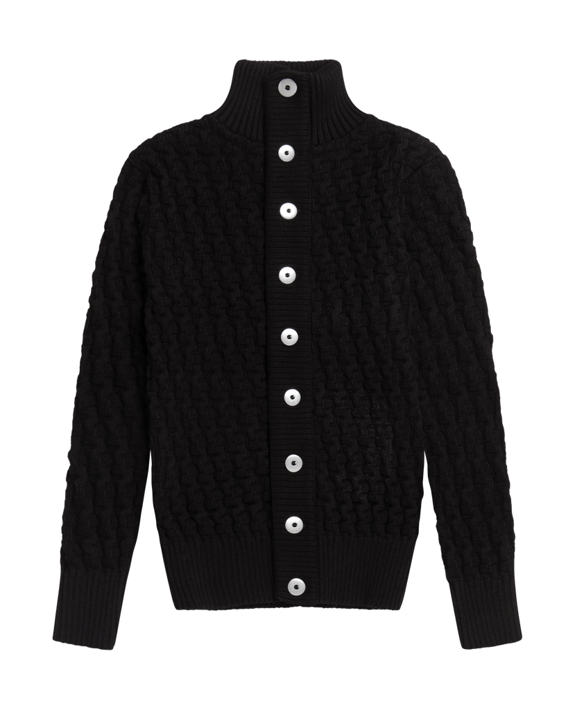 STARK cardigan<br>black void