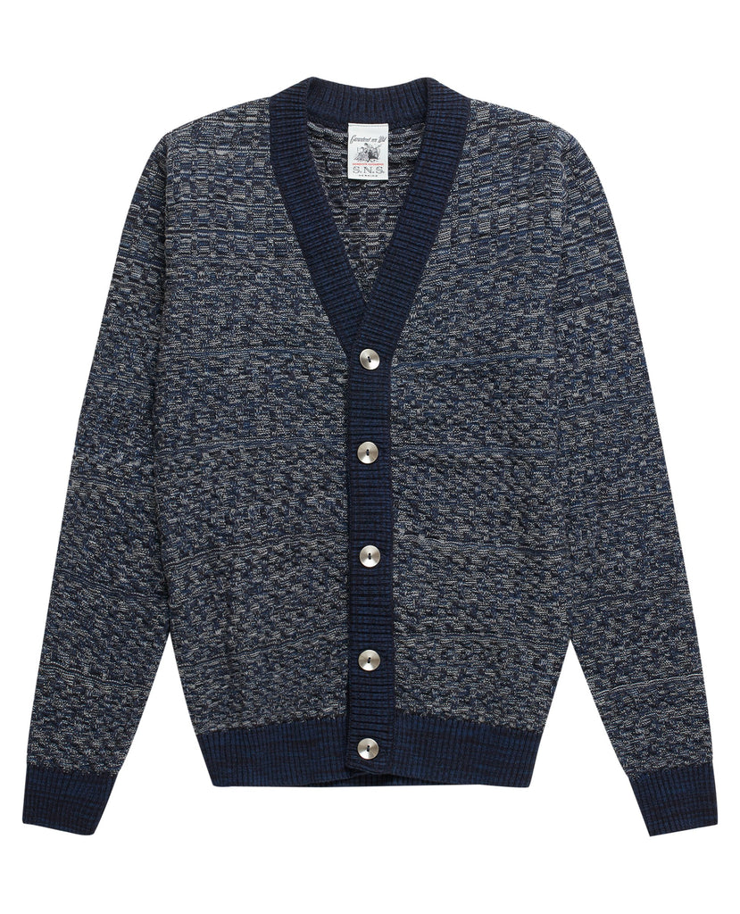 EMERGENT cardigan <br>dark blue
