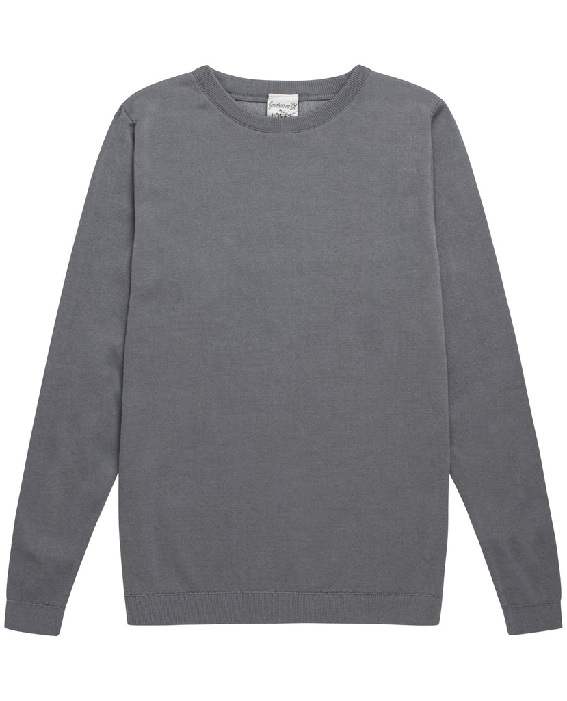 IMITATION crew neck<br>imitation grey