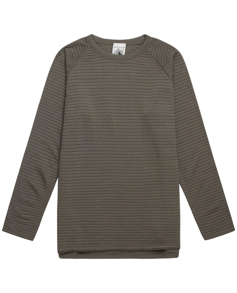 VISTA crew neck<br>army green