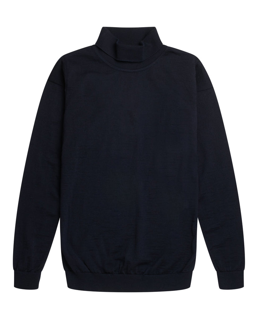 VERSION sweater<br>navy blue