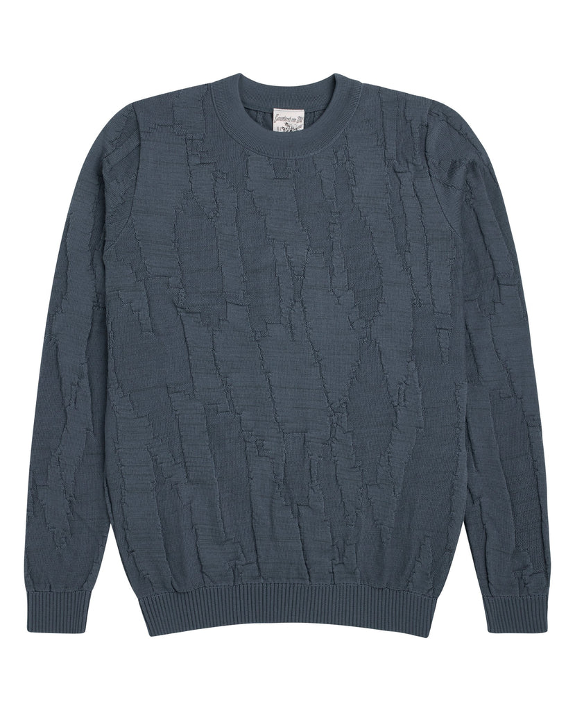 MIND crew neck<br>spatial blue