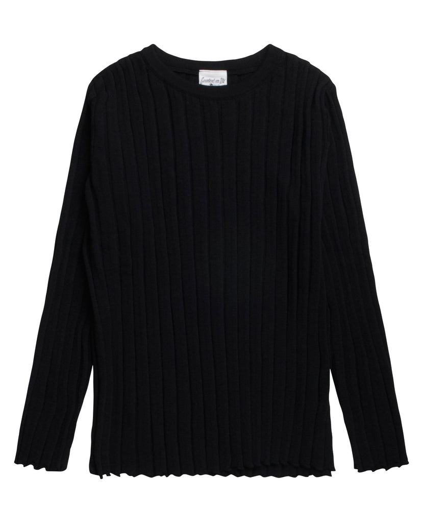 OVERLAP blouse<br>Black