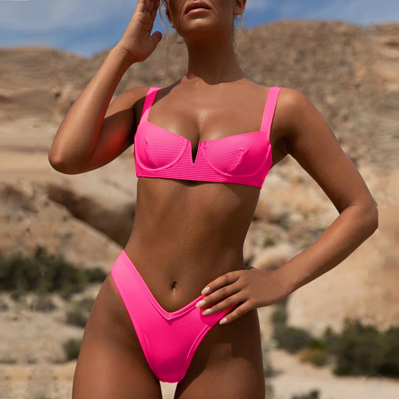 Buy Neon Push up Bikini