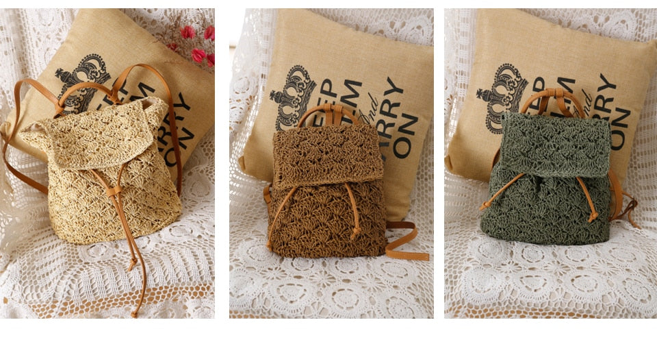 handmade rattan bag USA