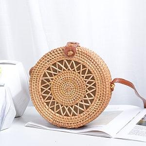 women Rattan bag NZ