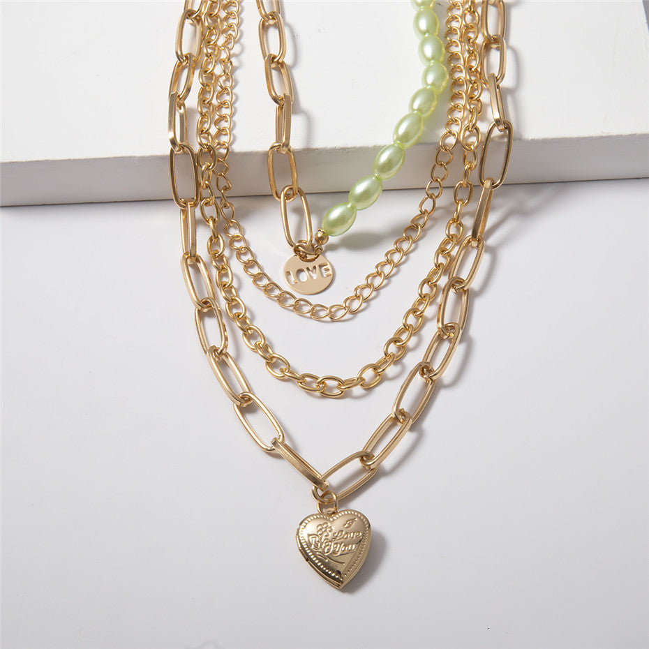 Multi Layer Love Necklace