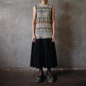 #07 Reconstructed Long Knitting Dress