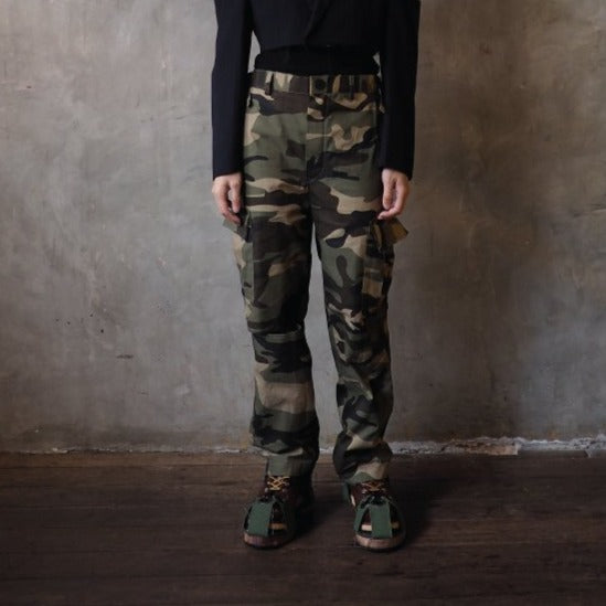 Camo Knee Cut Pants