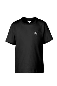 Black Everyday Monogram Tee