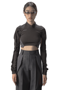 T1_ANDROID SUIT WOMEN BLACK