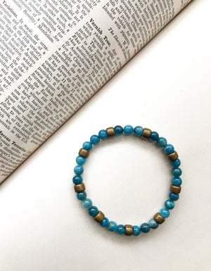 Light Blue Stones Bracelet