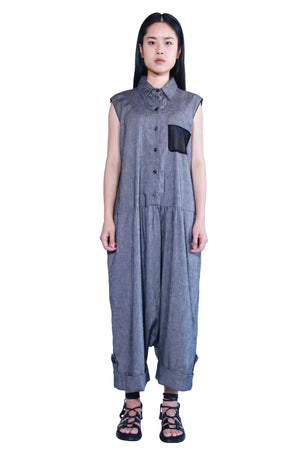 [Made To Order] Oversized Overall Jumpsuit