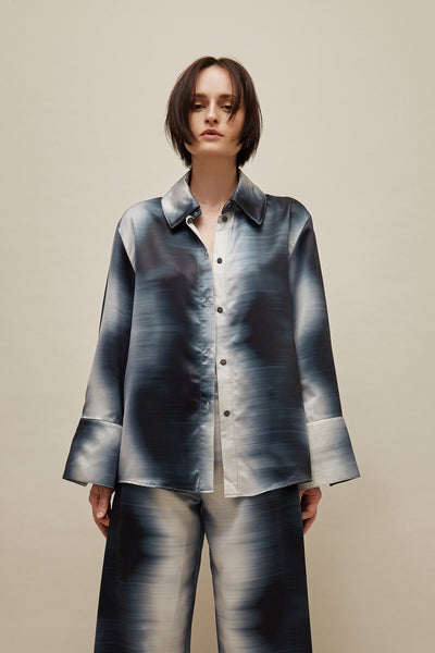 Static Satin Blouse