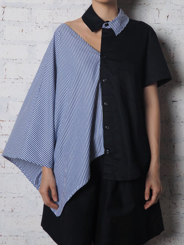 Asymmetry Blouse