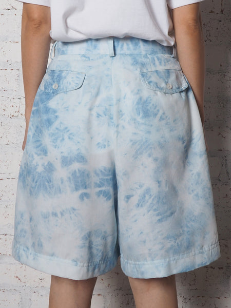 High Waist Shorts Pants - Tie Dye