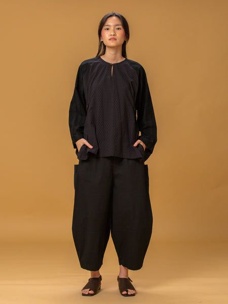 Tatap Cocoon Pants (Black)