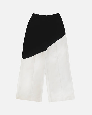 Bicolour Pants (Black/White)