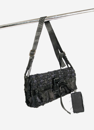 [Pre-Order] Bev C Weaving Shoulder Sling Bag - Bev C