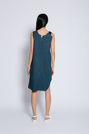 Diagonal Panelled Dress - Bev C