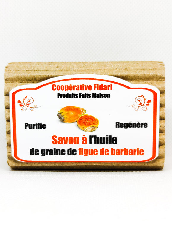 Savon à la graine de figue de barbarie