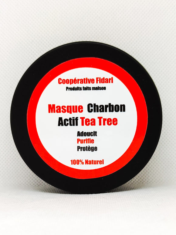 Masque charbon actif tea tree