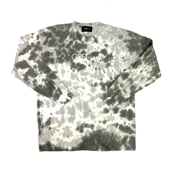 Tie Dye Long Sleeve - Cool Grey