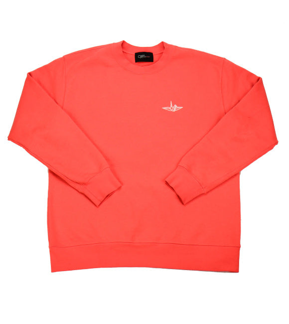 Signature Series Crew Neck - Solar Red