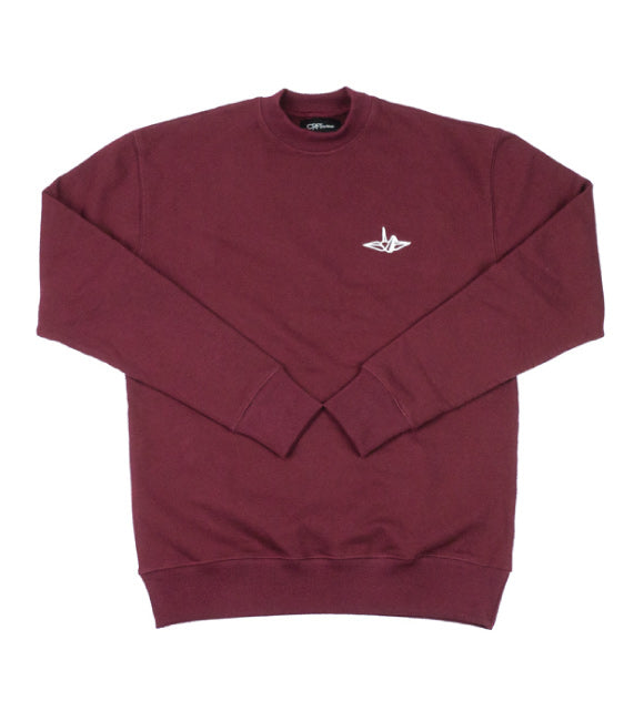 Signature Series Crew Neck - Wine