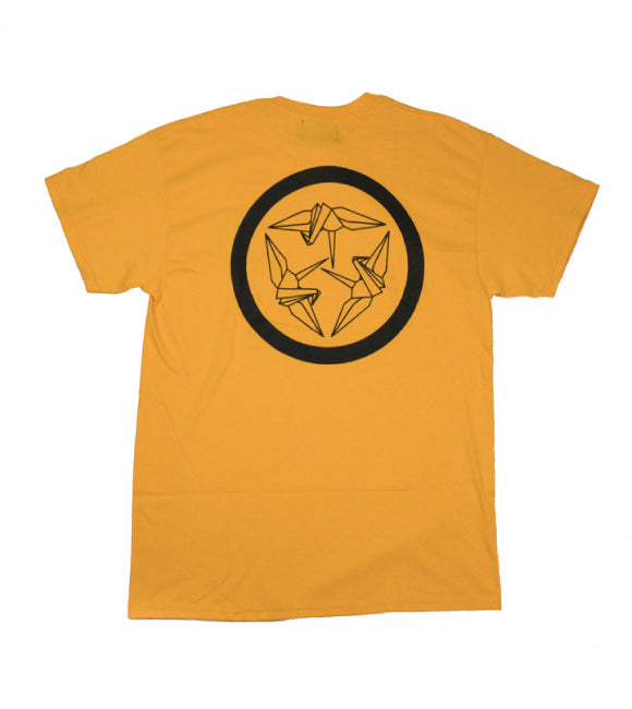 Kamon Logo Tee - Gold