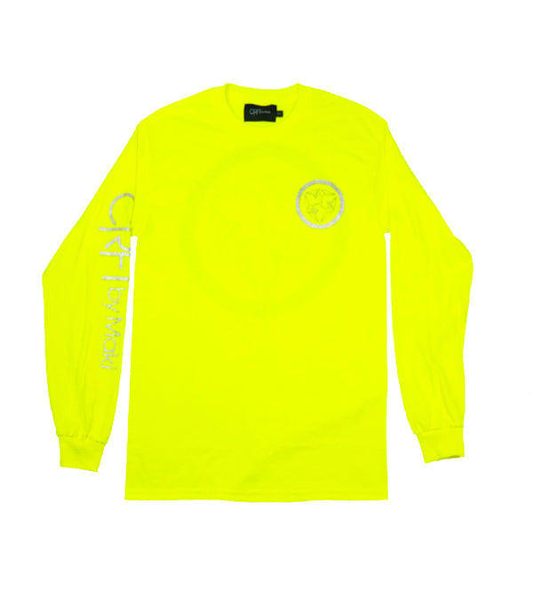 Kamon Long Sleeve Tee - Volt