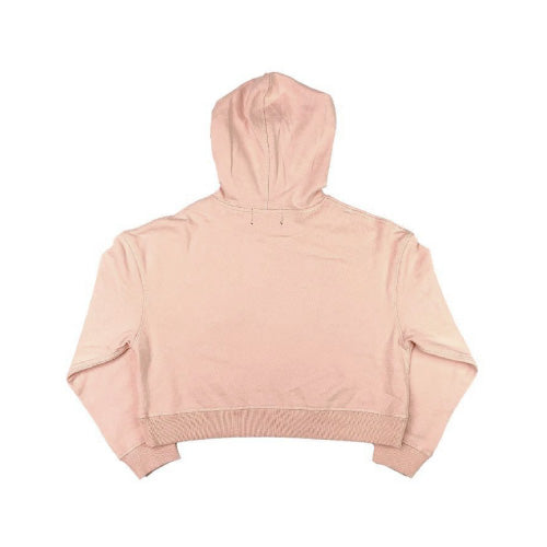 Women's Cropped Hoodie - Pale Pink
