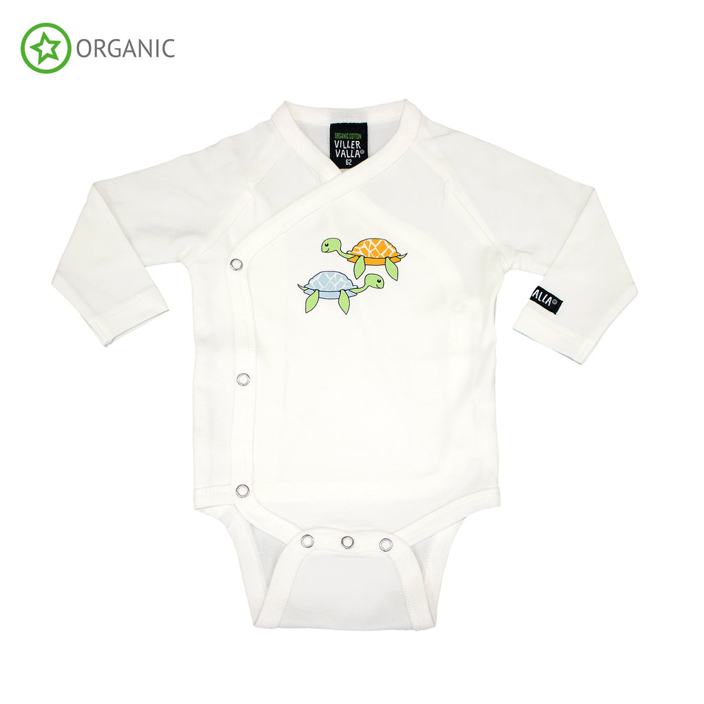 Villervalla - Turtle wrap over body (last one sz 9-12M)