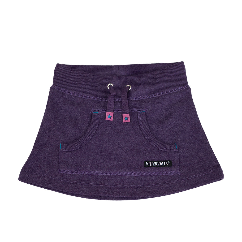 Villervalla - Relaxed Skirt Purple - PopSee Online