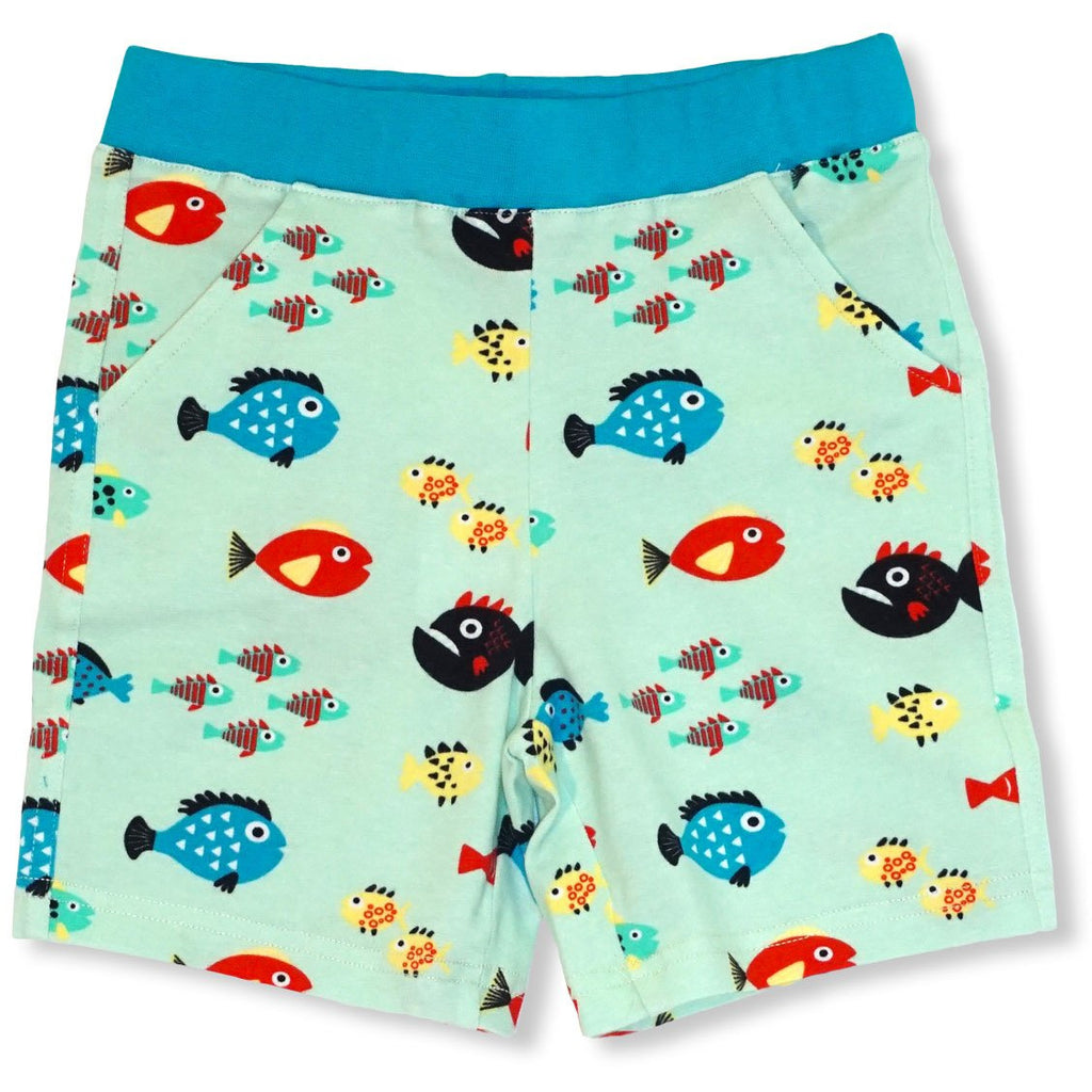 JNY - Shorts Swimming Fish - PopSee Online