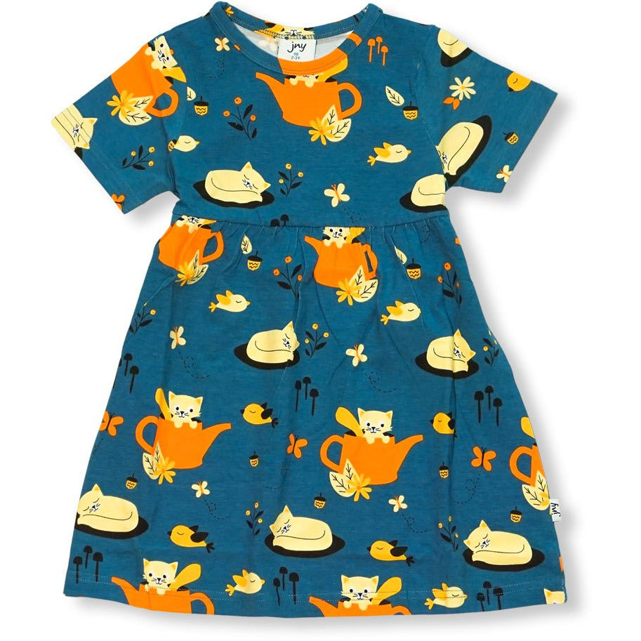 JNY - Sweetdress S/S Autumn Cat - PopSee Online