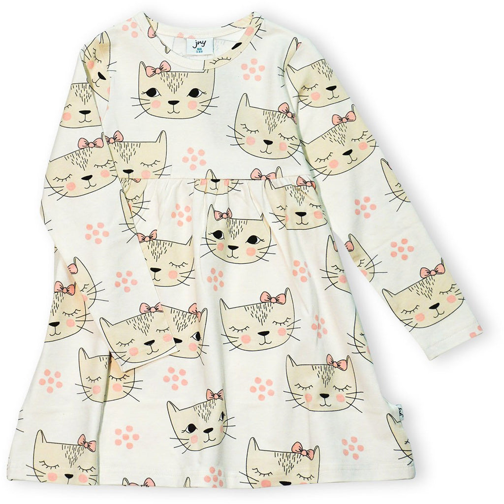 JNY - Sweetdress L/S Dreaming Cat - PopSee Online