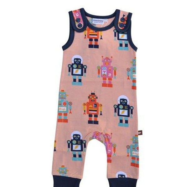 Moromini - Playsuit Friendly Robot - PopSee Online