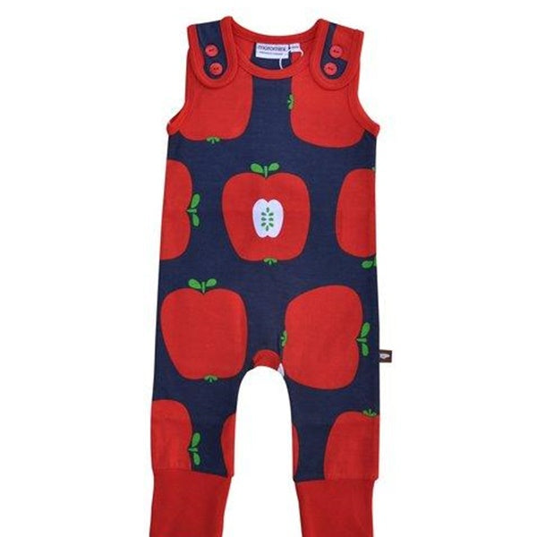 Moromini - Playsuit Red Apples - PopSee Online