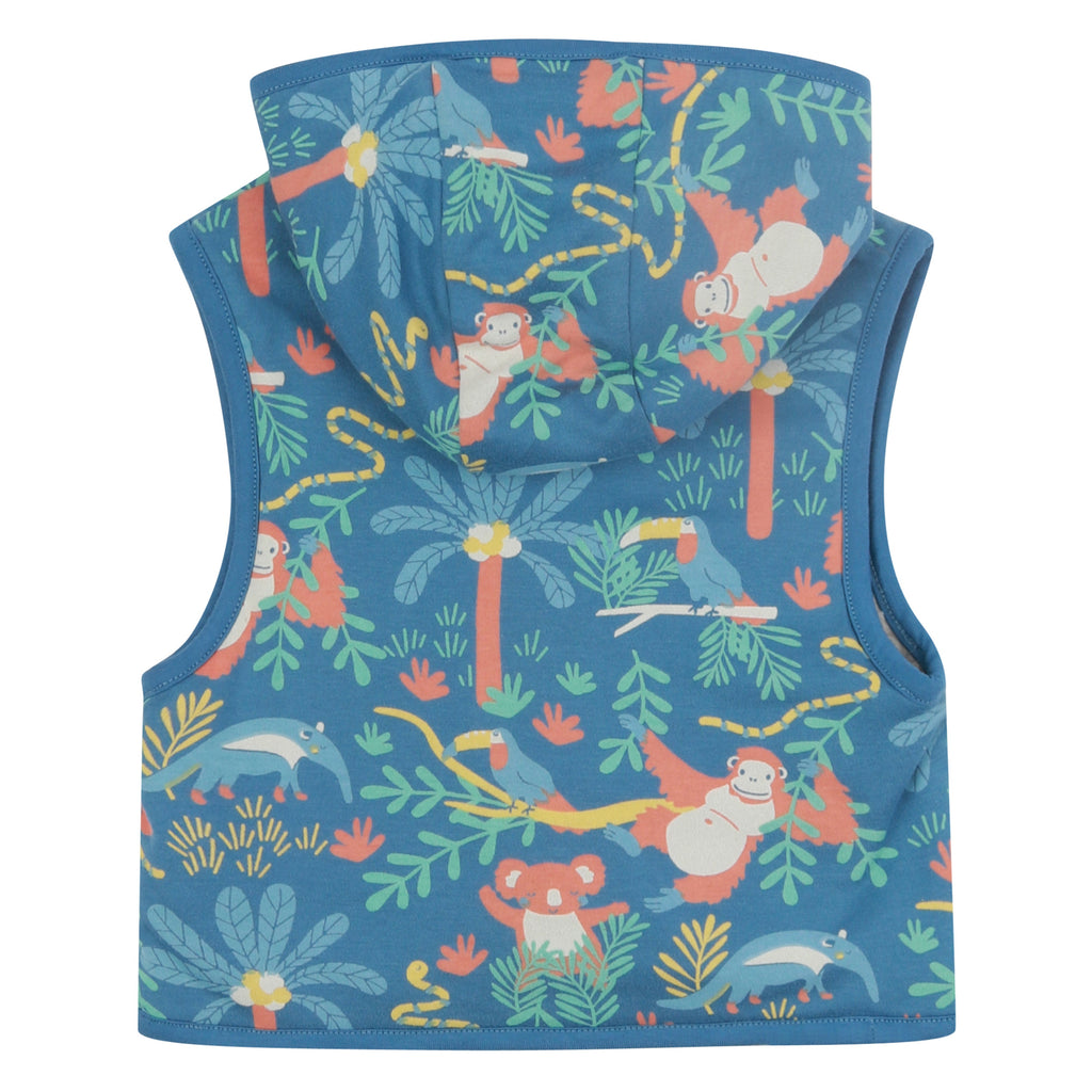Piccalilly - Gilet - Rainforest (last two sz 18-24M & 4-5Y)