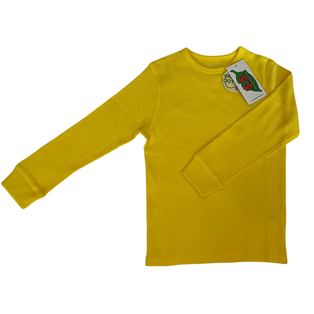 Slugs & Snails Basics - Waffle Top - Sunflower Yellow ***Preorder***